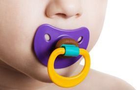 Pacifier Weaning Tactics:10 ways to get rid of the binky for good (binky fairy, dropping off at pediatrician w/rx, tie to balloons, stage a charity collection)