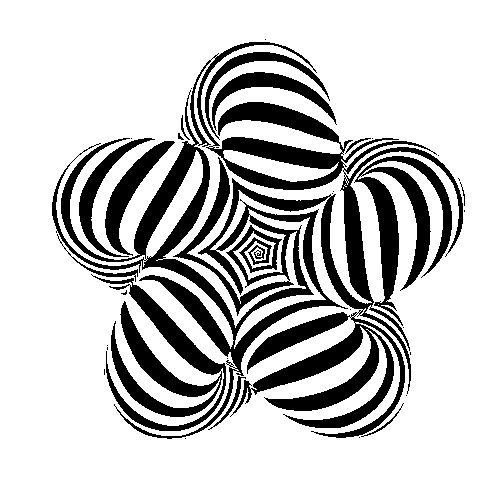 Les .Gif hypnotiques et psychédéliques de David Pope