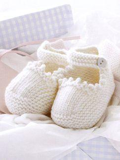 SCARPINE da fare in cotone o lana a seconda della stagione