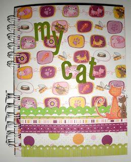 claudialand: Gatto! Pagine 2 e 3: album a fisarmonica Page 5, 6 e 8 aumento spazio