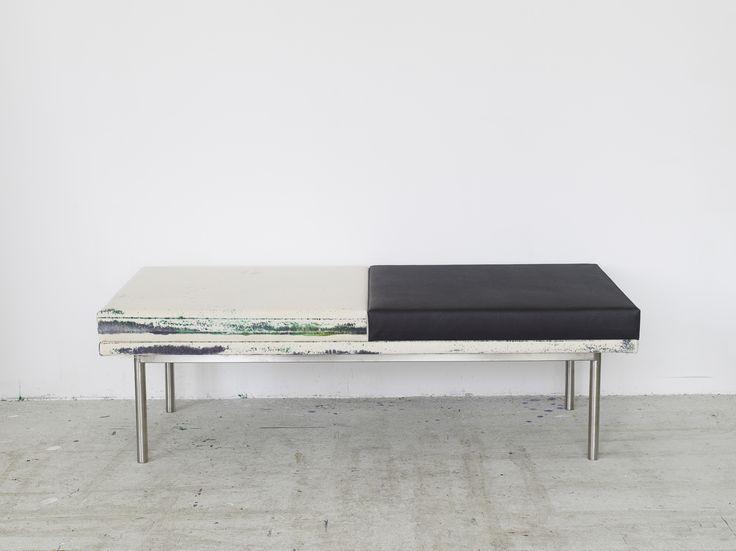James Krone, Waterhome Museum Bench (Influenza) 2013
