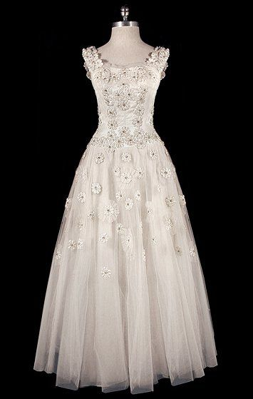 50s wedding dress