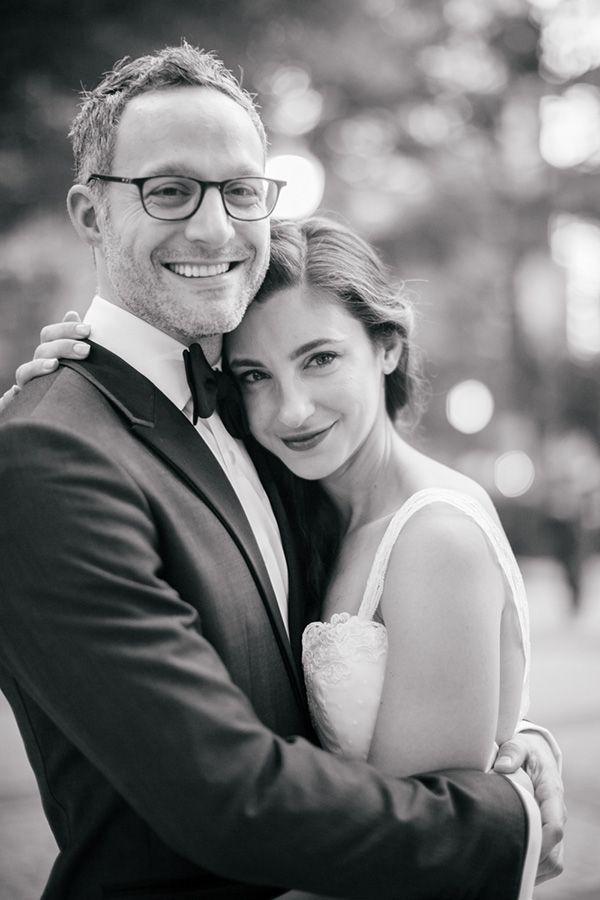 Adorable pose for a bride and groom on the wedding day photo. Photo: @emilywrenphoto | http://www.weddingpartyapp.com/blog/2014/11/12/pop-up-wedding-emily-wren-photography/