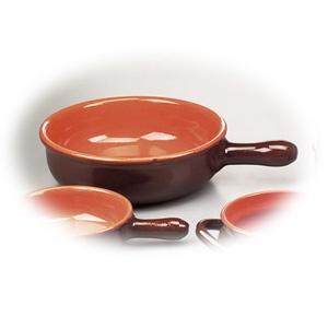 Cratita din ceramica cu un maner din colctia Coccio.