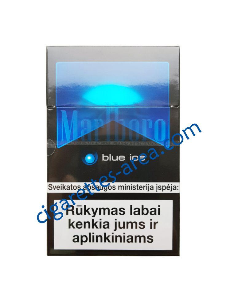 MARLBORO BLUE ICE cigarettes