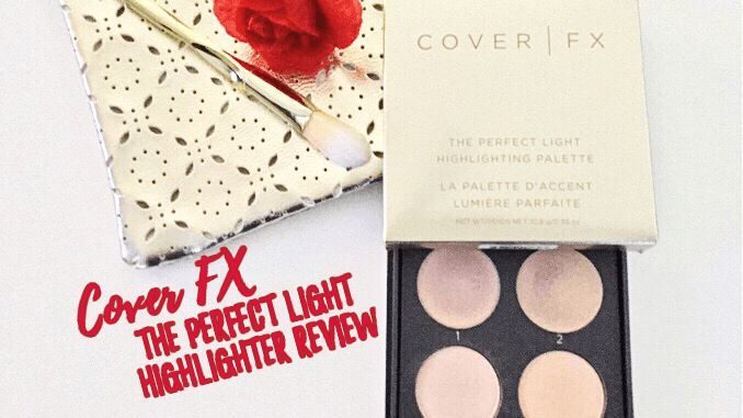 Before you Buy Cover FX The Perfect Light Highlighter, read my Review! Is this the glow you're looking for? #makeup #beautyblog #glow #over40