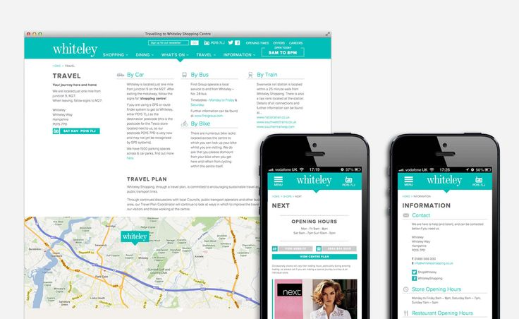 Responsive Website Design and Build | Whiteley, Fareham - Now Media
