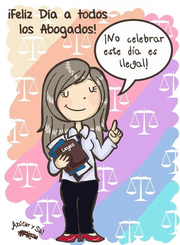 Feliz día del abogado!