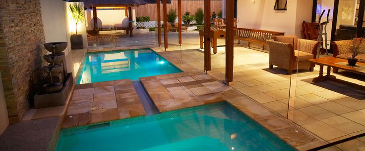 Pool & Spa Combination - Instyle Pools