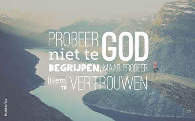 Leef je geloof: God is groter dan jij