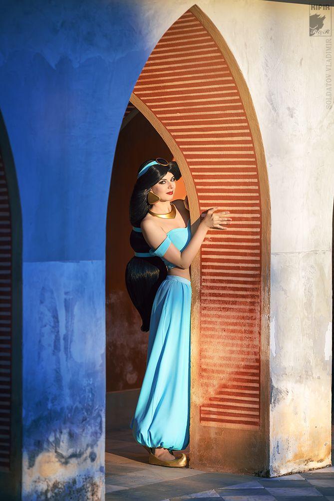 "Show Me the World by Rei-Doll.deviantart.com on @DeviantArt - Jasmine from ""Aladdin"""