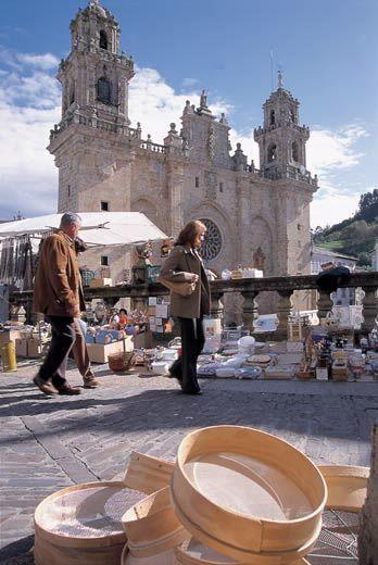 Mondoñedo (Lugo) Galicia, Spain.
