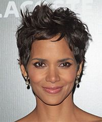 Wild and wicked is what this short hairstyle is all about. The layers all over are jagged or razor cut to achieve maximum texture which makes it easy to style with height. This is great for those with looking for a funky style to turn heads and wow the crowds.