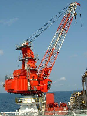 Liebherr Offshore Crane (Mast Type Crane)