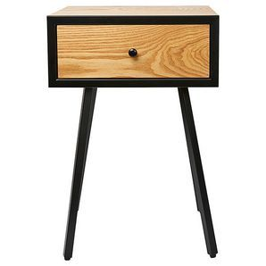 Ideal for a range of interiors and rooms, this side table with drawer is on-trend and fantastic value for money.Dimensions: 40cm (W) x 30cm (D) x 60cm...