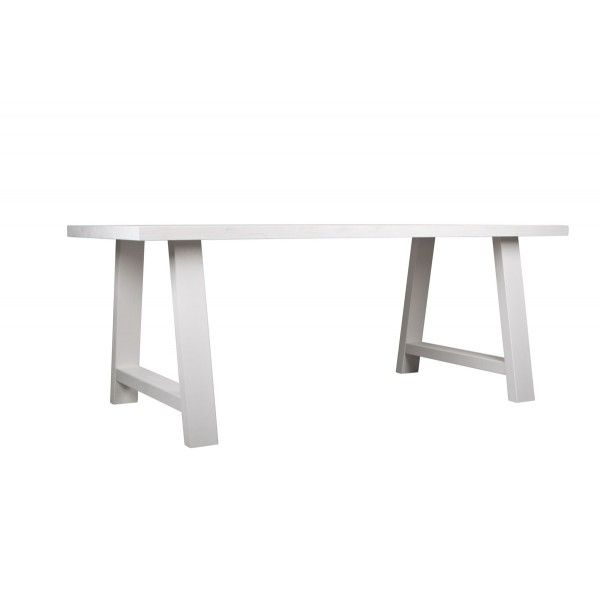 Drewniany stół Zuiver A-Framed biały