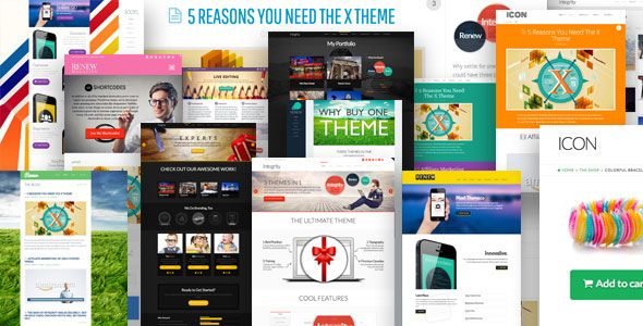 X v2.3.0 - Themeforest Wordpress Theme Free Download | Responsive Nulled Themes