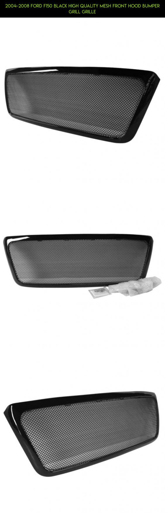 2004-2008 Ford F150 Black High Quality Mesh Front Hood Bumper Grill Grille #gadgets #drone #parts #technology #shopping #2006 #racing #plans #ford #products #kit #camera #tech #f150 #fpv #grills
