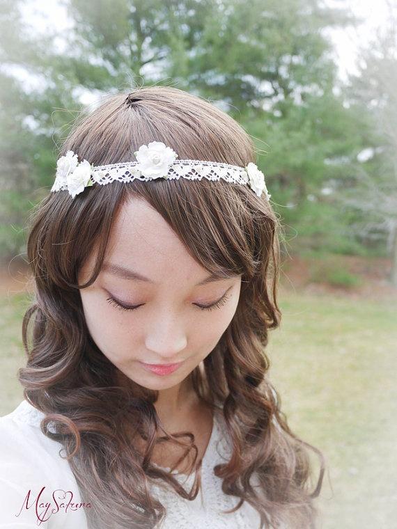 sale 20 off wedding hair band wedding hair band by maysakura 4000