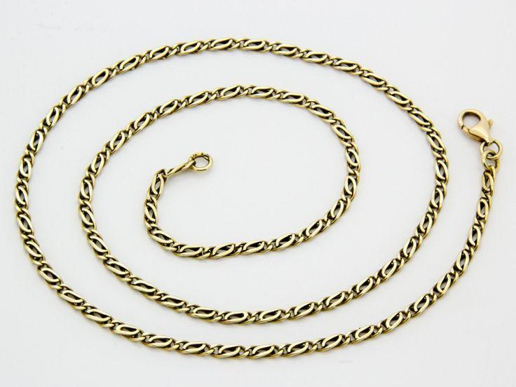 Arany fantázia nyaklánc