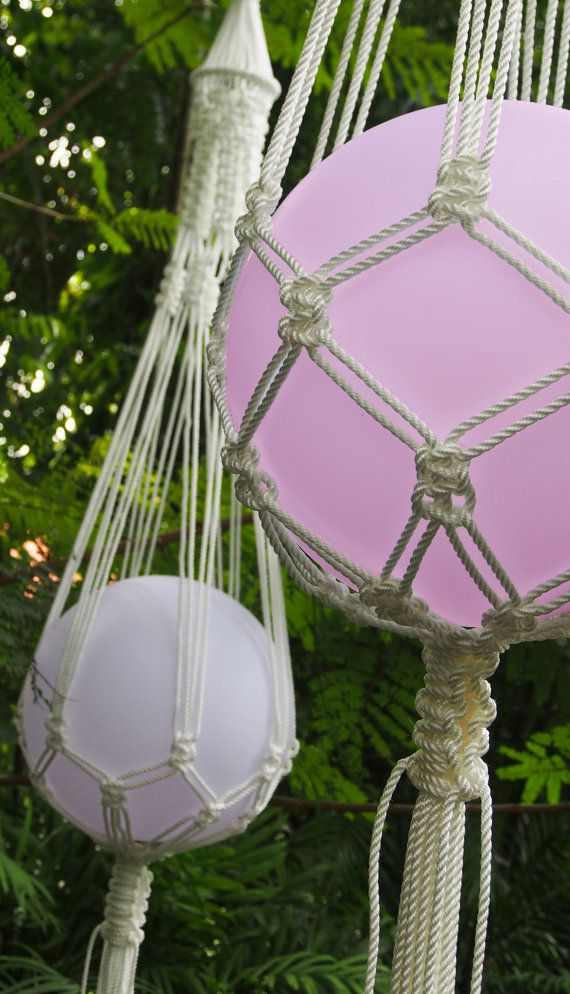 The 'FRANK' - Contemporary knotted LED hanging lamp