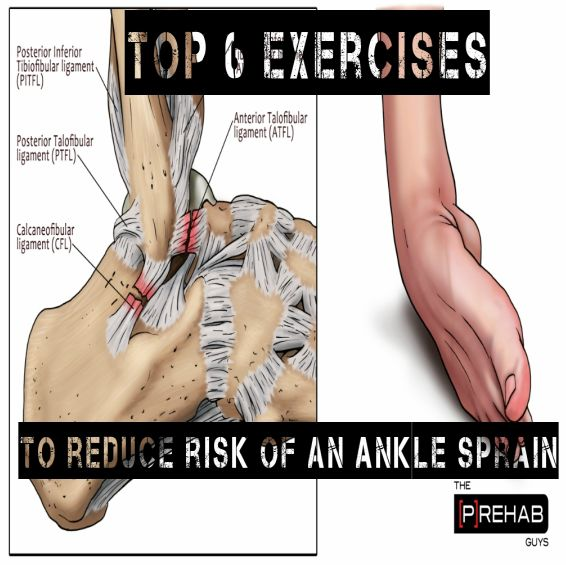 an ankle sprain are the most common injury in sports and physical activity, estimating to be about 25% of all injuries across sports