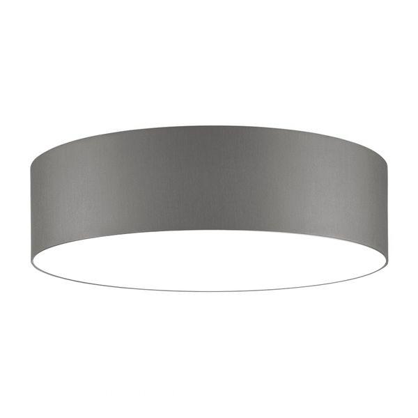 Deckenlampen - Deckenleuchte 70 cm +Diffusor Hellgrau - ein Designerstück von Lichthaus bei DaWanda