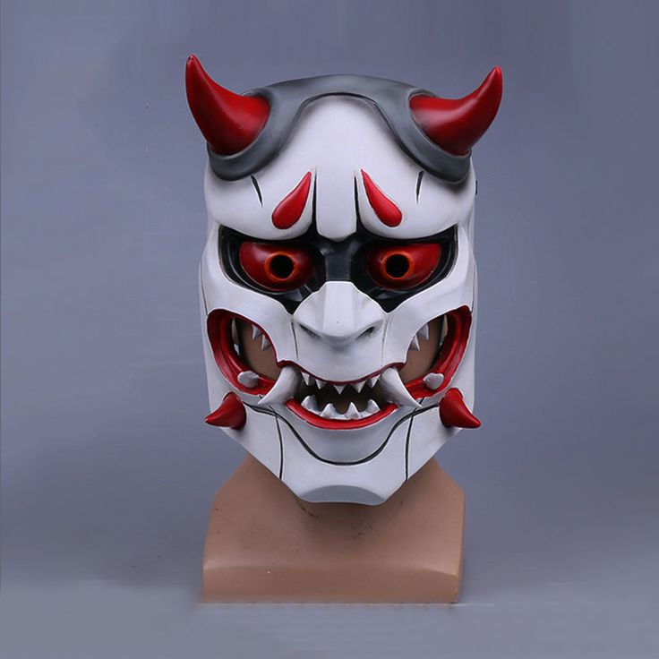 New Overwatch Genji Skin Oni Mask Halloween Fancy Ball Mask Prop Collection | Clothing, Shoes & Accessories, Costumes, Reenactment, Theater, Accessories | eBay!