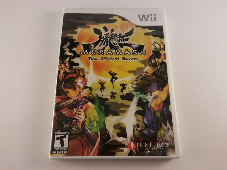 NICE! Muramasa: The Demon Blade - Complete - Nintendo Wii - FREE SHIPPING! #Doesnotapply