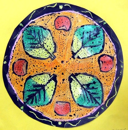 2,3,4 - Radial Symmetry Leaves