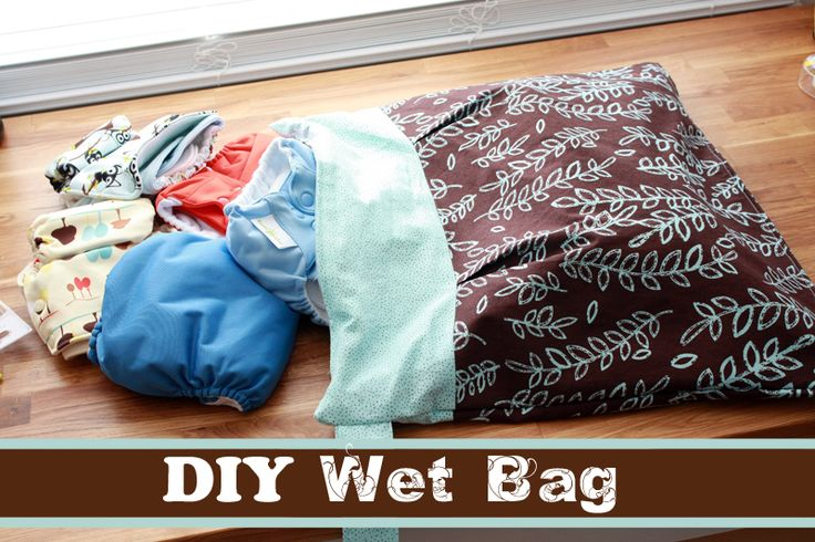 Love this detailed instruction for sewing a cloth diaper wet bag.