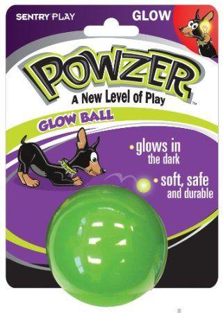 Amazon.com: Powzer Hi-Vis Glow Ball Interactive Dog Toy, 2-1/2-Inch (1 Ball): Pet Supplies