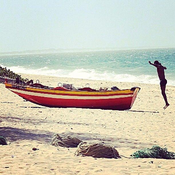 Praia da Macaneta em Marracuene, Maputo