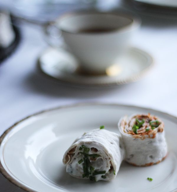 Vegan Afternoon Tea -  The Brit: Cucumber & Mint spread