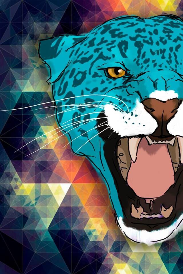 Snap out blue Leopard Leopardo azul