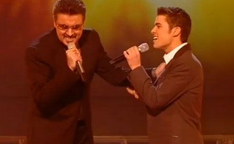 WATCH: George Michael Duets with X-Factor Winner Joe McElderry ...