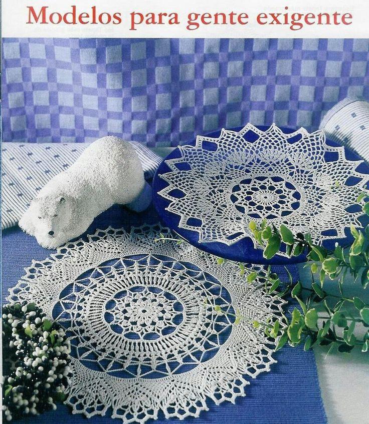 114 besten crochet doily Bilder auf Pinterest | Häkelzierdeckchen ...