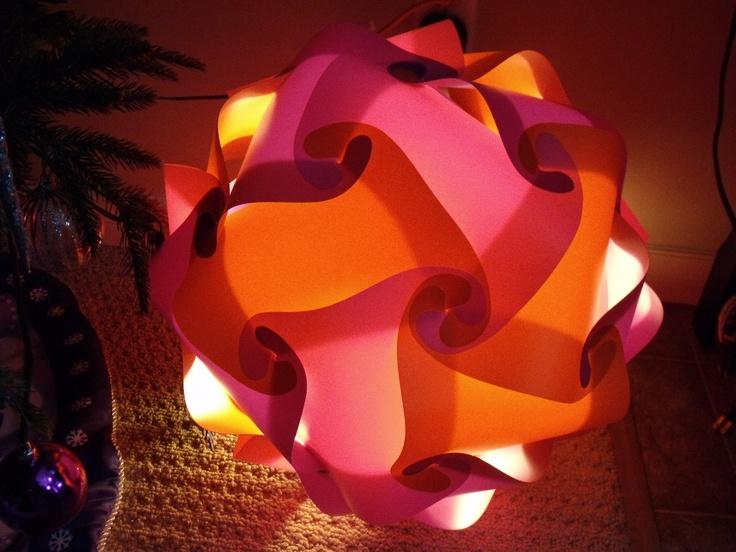 Pink & Orange Light