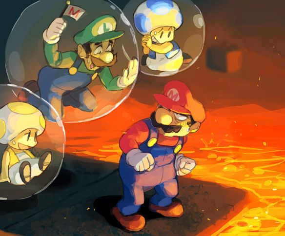 why I hate playing new super mario bros w/ multiplayer :p