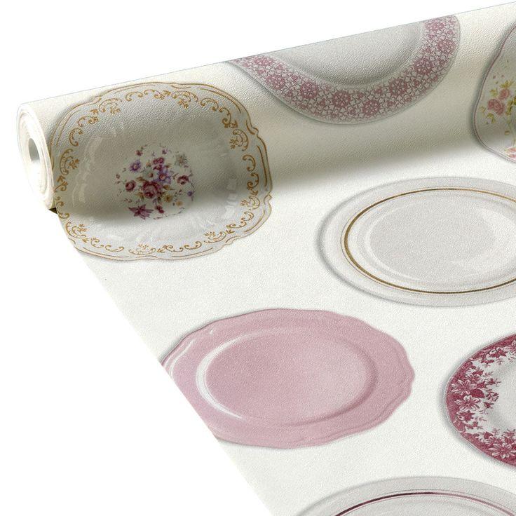 Intissé JEANNE coloris blanc - Papier Peint - 4murs