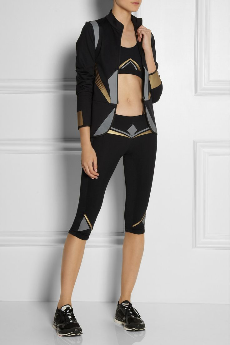 Lucas Hugh|Dial stretch leggings. If I did get off my arse and exercise this would be the outfit to do it in.