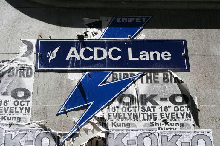 ACDC Lane - Melbourne