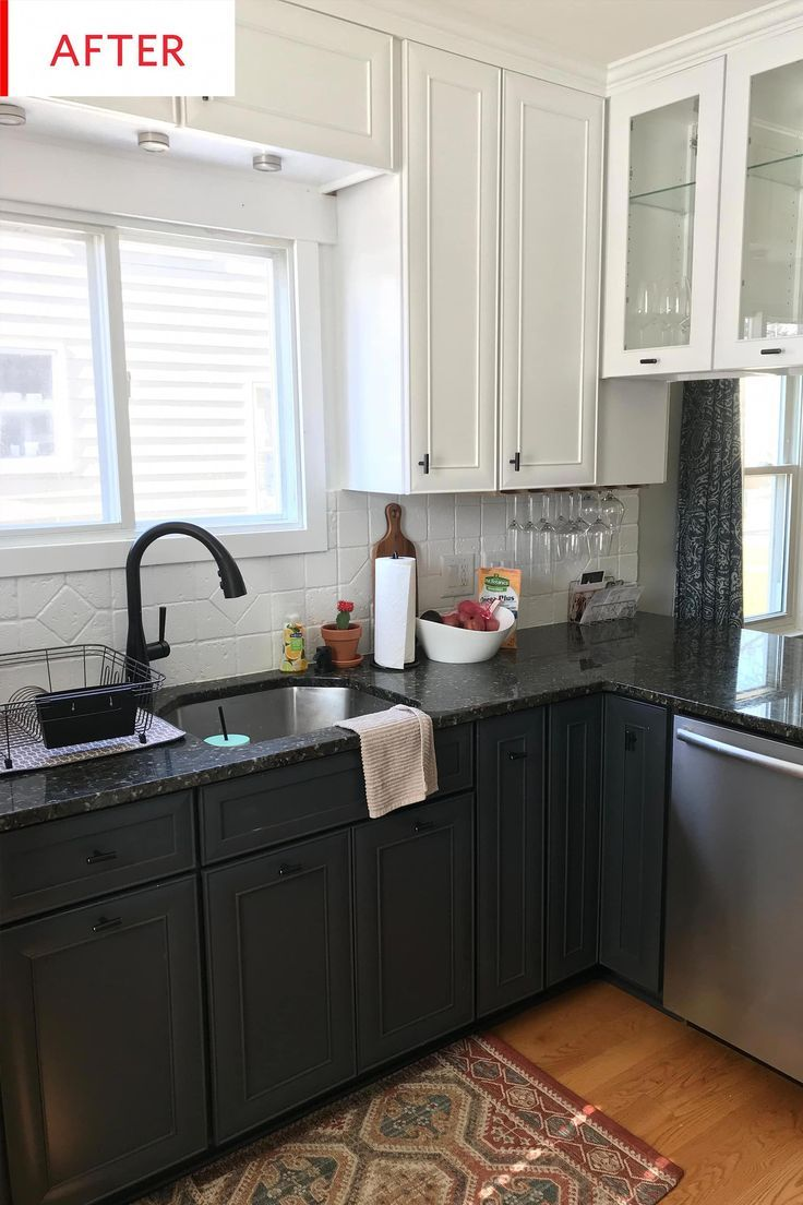 Before and After: A Three-Week $500 Kitchen Facelift