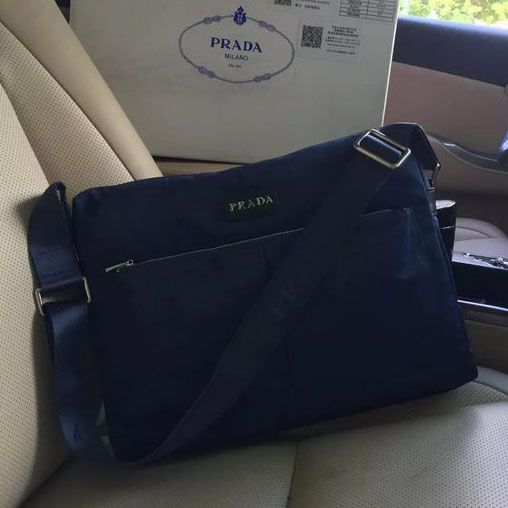 Prada Vela Fabric Messenger Bag P95321