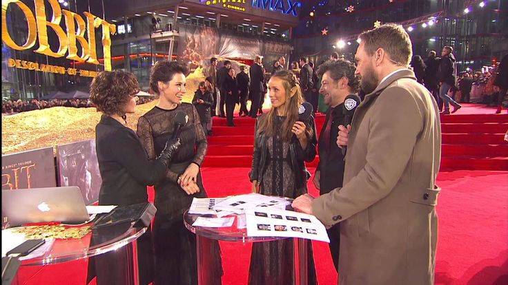 The Hobbit: The Desolation of Smaug - European Premiere Highlights