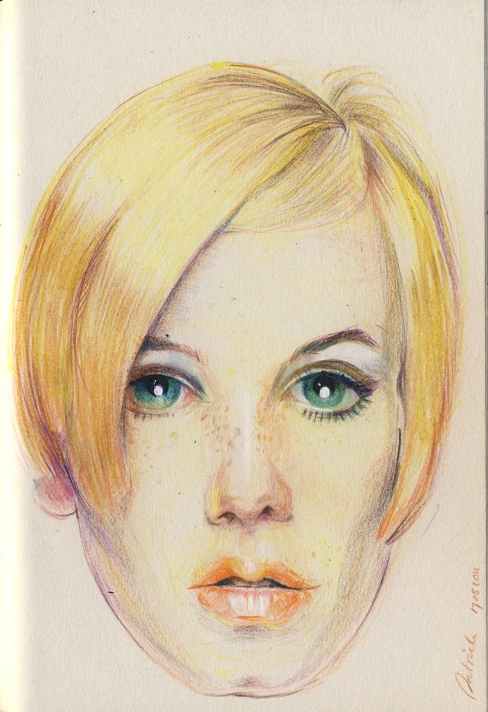 Patrick Deen: Kleurpotlood tekening (05 2011)