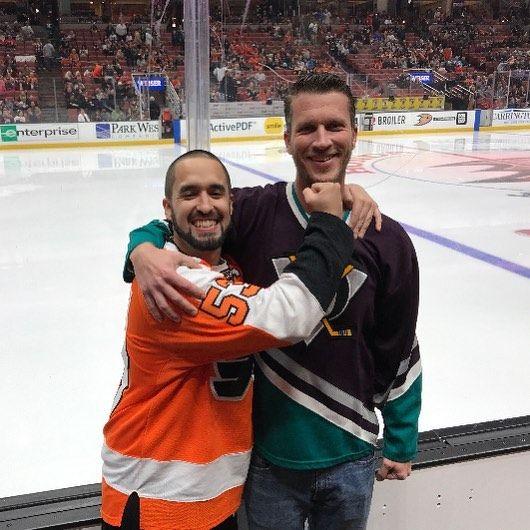 #brother #flyers #ducks #anaheim #HondaCenter #LA #hockey #NHL #philadelphia #philadelphiaflyers #clytonkershaw #kershaw #calgary #flames #clagaryflames