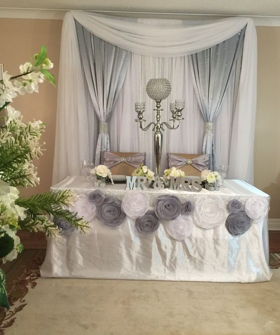 Sweetheart table: