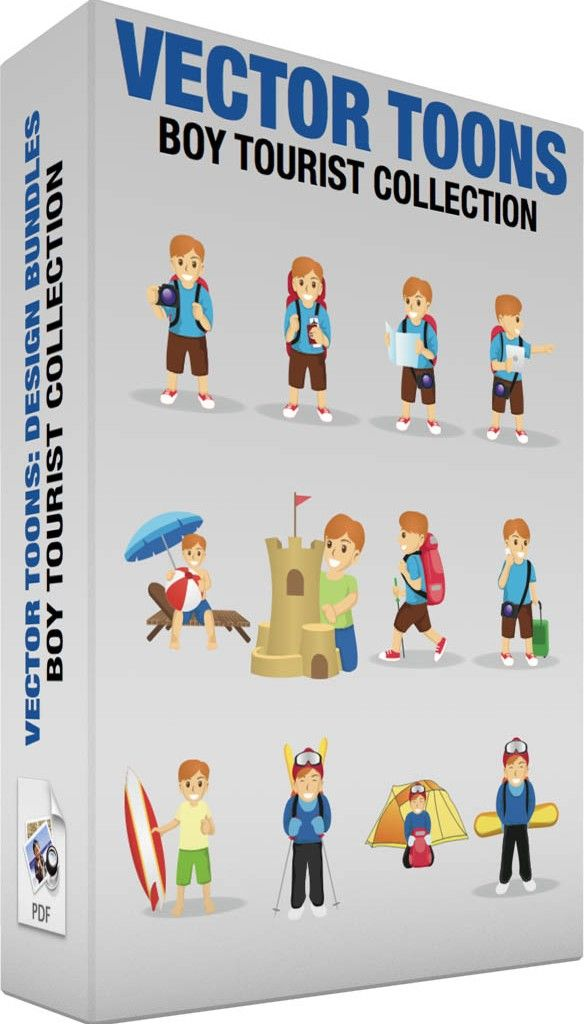 Boy tourist collection