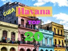 Below we compiled the top 20 sights to see in Havana, together with some quick facts, such as the opening hours and the entry prices...
